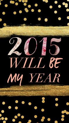 Happy New Year! FREE inspirational 2015 tech wallpaper #iphone #android