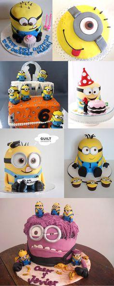 minions tortas variadas Minion Birthday, Minion Party, First Birthday Cakes, First Birthday Parties, 2nd Birthday, First Birthdays, Pastel Minion, Fiesta Cake, Kids Party Themes