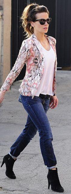 Sunglasses- Oliver Goldsmith    Purse – Chanel    Jacket – Stylestalker    Jeans – R13