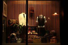 "Garrison Bespoke – ""The Great Gatsby"" window display by Sean Brown, Toronto"