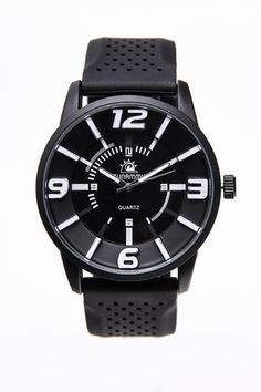 Black vs. White Rubber Watch