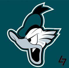 Mark Avery-Kenny  Donald the Philadelphia Eagle.