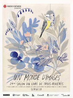 23 au 26 mars : Un monde d'images ! Illustration réalisée par Isabelle Arsenault