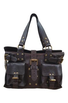 0d88ea3291f4 MULBERRY Chocolate Brown Roxanne Handbag (M) – The Freperie