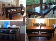 GIVEAWAY! Win one of these tables from James+James on Facebook right now... Click through to enter on Facebook!