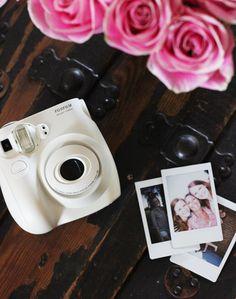fujifilm instax mini - love this camera, comes in five colors on amazon all around $60-80