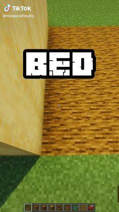 Minecraft Bedding, Minecraft Room, Minecraft Plans, Minecraft Funny, Amazing Minecraft, Cool Minecraft Houses, Minecraft Tutorial, Minecraft Blueprints, Minecraft Crafts