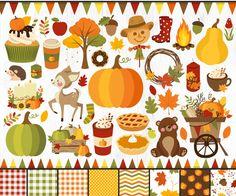 Fall Clip Art, Thanksgiving, Plus 4, Diy Invitations, Fall Wreaths, Fall Harvest, Happy Fall, Autumn Leaves, Autumn Art