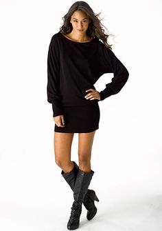 Awesome Sweater Dress Inspiration: Megan Dolman sweater Dress and boots from www.alloy.com... Check more at http://24myshop.tk/my-desires/sweater-dress-inspiration-megan-dolman-sweater-dress-and-boots-from-www-alloy-com/