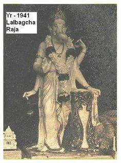 Lalbaugcha Ganesh Image 1941
