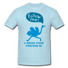 CUSTOM Follow me twitshirt ~ 181