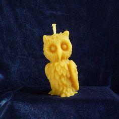 Z18 Sova - Svíčky ze včelího vosku