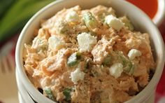 If you enjoy buffalo chicken and chicken salad, you will love this winning combination! It is quick and easy to prepare, and only requires a few simple ingredients that blend perfectly together!