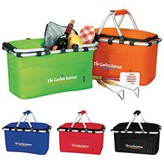 Enjoy a nice, relaxing picnic with the KOOZIE Picnic Basket. The picnic basket will proudly show your logo. Promote your brand while on a relaxing picnic. Collapsible for easy storage. Fresh Cherry Pie Recipe, Family Picnic Foods, Picnic Backpack, Picnic Cooler, Promotional Giveaways, Summer Picnic, Picnic Time, How To Get Warm, Quality Logo Products