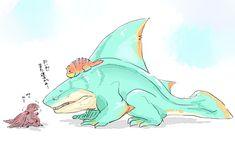Monster Hunter Memes, Monster Hunter World, Dragon Mythology, Godzilla, Pikachu, Anime Art, Manga, Artwork, Cute
