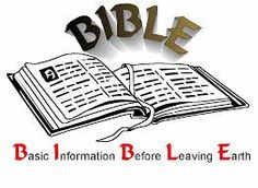 Attention: Attention: Don't leave Earth without reading it. Basic Instructions Before Leaving Earth BIBLE The HOLY BIBLE is the Best Seller of books of all time! The HOLY BIBLE is the greatest ...