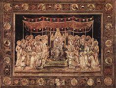 La Maestà del Palazzo Pubblico di Siena è un affresco (970x763 cm) firmato da Simone Martini, che occupa tutta la parete nord della Sala del Mappamondo (detta anche Sala del Consiglio) del Palazzo Pubblico di Siena. L'affresco   (con applicazioni di metallo, vetro, foglia e altri materiali) su parete con cornice è datato 1315 ed è considerato una delle principali opere dell'artista, nonché una delle opere più importanti dell'arte trecentesca italiana.