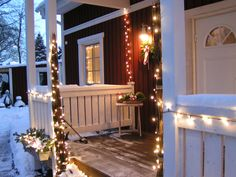 winter veranda