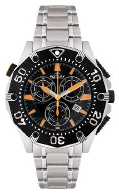 Men's Wrist Watches - Rotary Mens AGB90036C04 Aquaspeed Sports Chronograph Bracelet SwissMade Watch ** You can find more details by visiting the image link.