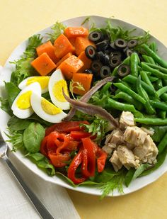 Salade Nicoise Healthy Recipe #BiggestLoser