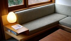 tim seggerman design and building workshop brooklyn ny Home Interior Design, Interior Architecture, Built In Couch, Home Furniture, Furniture Design, Dining Nook, Sofa Design, Design Design, Home And Living