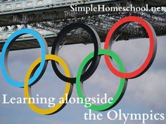 Great links for learning with your kids during the Olympics. Definitely not just for homeschoolers.