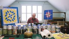 "Painting Quilt Squares Brings This 94-Year-Old ""Real Joy"" 