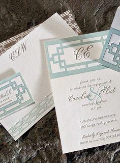 Plym custom letterpress stationery