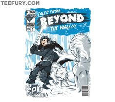 Tales From Beyond the Wall by AtomicRocket - Shirt sold on October 28th at http://teefury.com - More by the artist at http://www.facebook.com/TheAtomicRocket