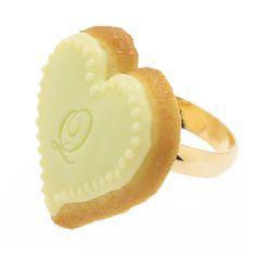 Heart Sugar Cookie Ring   Q-pot.