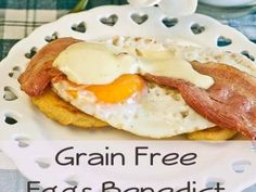 Grain Free Eggs Benedict Recipe with coconut flour biscuits 365x274 Grain Free…