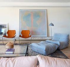 27 ideas para decorar con el color blue serenity | Decoración