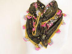 Cotton SCARF Square scarf  glitter turkish scarf Fabric scarf  turban hijab bandana