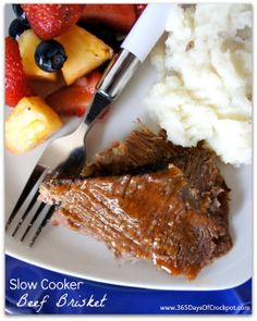 Recipe for Smoked Brisket in the Slow Cooker