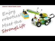 Meet the StrongLift! WeDo 2.0 robot - YouTube