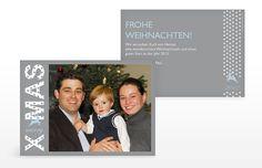 """Weihnachtskarte """"Sternensprung"""""""