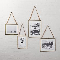 Floating frames are having a moment. There's something so eye-catching about seeing a photograph, feather or message suspended in midair—and the fact that it's one of the simplest framing techniques (no matting necessary) makes it even more popular. If you want to add more art to your home, but don't have time for yet another project to procrastinate on completing, turn to these three ideas that take less than 5 minutes to make.