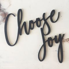 Choose Joy Sign // happy sign // porch decor // welcome Decor //Rustic Wood Sign //Wall Hanging//Home Decor // laser cut Metal Wall Decor, Metal Wall Art, Rustic Wood Signs, Rustic Decor, Hope Sign, Plasma Cutter Art, Happy Signs, Wood Name Sign, Laser Cut Metal