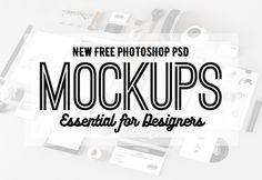 Free Photoshop PSD Mockup Templates (25 New MockUps) | Freebies | Graphic Design Junction