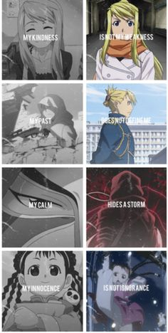 Love the strong women of FMA:B. THEY'RE ALL SO KICKASS ITS GREAT