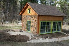 Cordwood greenhouse, I really want to build a structure using this technique.