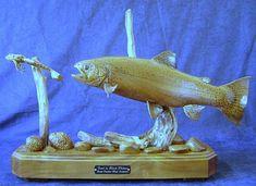 Black walnut trout