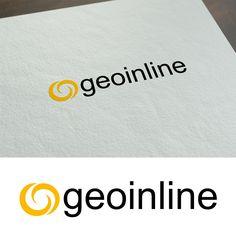 Geoinline [logo design] http://www.digitalcoloriglesias.com --- Designer: Stefano Sodini [Tipografia Digital Color]