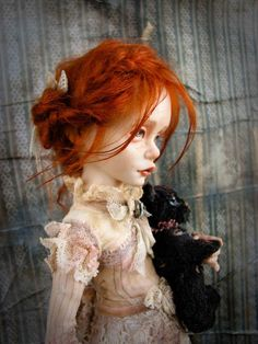 THE BEAUTIFUL PEOPLE PROJECT: Helena Oplakanska, Artist, Doll's Creator, Odessa, Ukraine