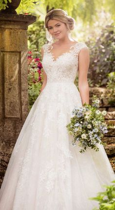 Courtesy of Essense of Australia wedding dresses