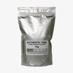 Domo Stone-Ground Authentic Chai Tea Latte, Chai, Stone, Products, Rock, Batu, 1st Birthdays, Gadget