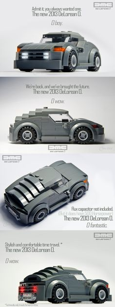 2013 DeLorean O. The louvered back window is beautiful art deco stylee.