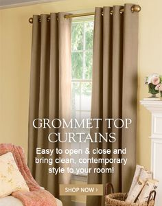 Shop Our Vast Selection Of Curtains And Draperies. From Casual Curtains To  Formal Curtain Styles, Youu0027ll Find Quality Curtains To Create A Warm And ...
