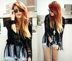 Red/blonde