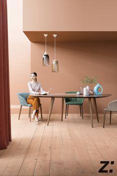 Tweed Tisch L 213 x B 102 cm Zanotta - einrichten-design. 174aa56fbec3